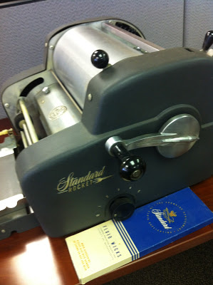 mimeograph machine for school worksheets