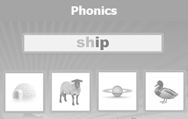 phonics game button